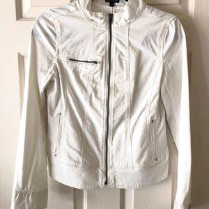 Express White Motto Jacket